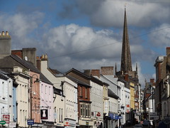 Monnow Street, Monmouth, Monmouthshire, 22 September 2016 (AndrewDixon2812) Tags: monmouth priory church monnow street monmouthshire trefynwy wye wales stmarys stmary