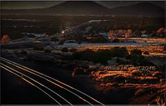 "Winona Bathed In Light"" (-Metal-M1KE-) Tags: arizona az winona winonaaz bnsf winonabathedinlight stacks stacker doublestacks intermodal redhour burlingtonnorthernsantafe sunset sundown evening"