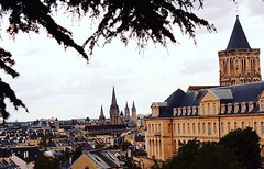Abbaye Aux Dames (mkallou) Tags: normandie caen eglises hauteur paysage