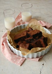 Nigel Slater's brownies / Brownies do Nigel Slater (Patricia Scarpin) Tags: baking brownies nigelslater chocolate cocoa bars