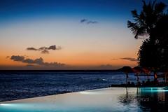 Overlooking Waikiki (Victor Wong (sfe-co2)) Tags: seascape landscape seaside deck chair waikiki honolulu hawaii usa sunset waterfront sheraton hotel sky outdoor sea shore water beach
