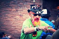 Colorado Boy (Popluzhnyi) Tags: colorado redrocks boulder denver face portrait spy beard hat