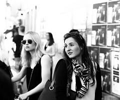 (SBJRN) Tags: streetphotography asbjrnandersensjllandfotografstreet canon6d canonef2470mmf28l fullframe focus lady grey blackandwhite sjlland summer candid