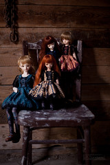 ready for halloween (koroa) Tags: bjd doll bluefairy daydream tf bf tinyfairy may sally amy
