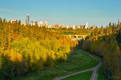 MacKinnon Ravine Park, Edmonton (WherezJeff) Tags: edmonton mackinnon park yeg yegpark autumn ravine alberta canada ca cityscape