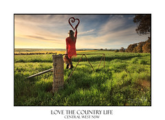 Escape to the Country - female on fence with love heart in morning light (sugarbellaleah) Tags: love heart country female countryside cowra pretty morning sky loveheart outdoors freshair life zest scenery scenic landscape canola farm farmlands tourism nsw australia sitting fence grass fields grazing agriculture industry rural lifestyle countrylife woman person clouds nature environment bumbaldry emotion picturesque light sunlight spring season relax tranquility