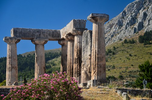Ancient Corinth: Temple of Apollo