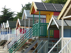 Steps to heaven (Jane.Des) Tags: norfolk holidays beach sand steps beachhuts colourful