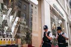 On the Beat (Michael Goldrei (microsketch)) Tags: photo cops louis coppers street mayfair 2016 35mm september photos police leica london st 240 photography vuitton 16 typ type240 typ240 photographer sept