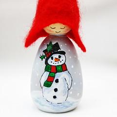 snowman (CornishDragon) Tags: snowmen cornishdragon cornishpixieelf christmas