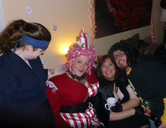 FRIENDS at Kari and Owen's Halloween Party 2012 (benchilada) Tags: friends party halloween zoe beth kari owen 2012 owens