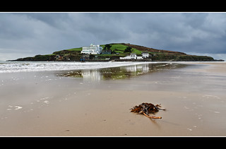 Burgh Island between rain showers