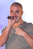 Max George of The Wanted, at the switch on of the Meadowhall Christmas Lights at Meadowhall. Sheffield, England