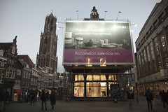 Utrecht, Stadhuisplein (dutchdaniel) Tags: holland netherlands nikon utrecht domtoren dom oudegracht 030