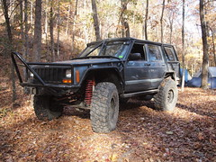 PB105462 (jeepinjason) Tags: jeep arkansas cherokee hotsprings 2012 xj exocage superliftorvpark lsjc veteransdayrun