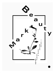 MSCED : 082  Beauty MarkRufus Wainwright (cmyka_msced) Tags: typography design graphicdesign designers msced makesomethingcooleveryday