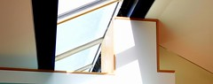 Interior rooflight detail (Photograph courtesy of Inscape Joinery)