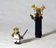 KnightOfNi4 (Shmails) Tags: lego holy knights python ni custom grail monty minifigure fanasy cccx brickwarriors