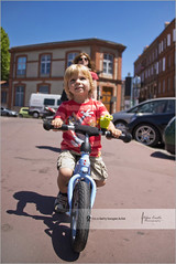 The little biker (Stefan Cioata) Tags: travel summer vacation holiday beautiful childhood bike sport fun happy photography photo nikon europe child play image sale great stock joy best stefan explore getty biker toulouse top10 joyful familly available d800 outstanding cioata flickrandroidapp:filter=none playhood