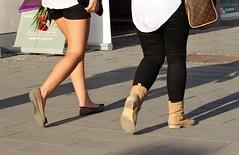 Footwear of Cluj-Napoca, Jud. Cluj, Romania (Wayne W G) Tags: fashion boot shoe shoes europe boots candid streetphotography footwear romania easterneurope cluj clujnapoca shoesboots geo:country=romania