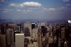 NYC April 1980 pic038 (streamer020nl) Tags: park new york nyc newyork building 2000 skyscrapers centralpark manhattan central empire empirestatebuilding 1980 1000