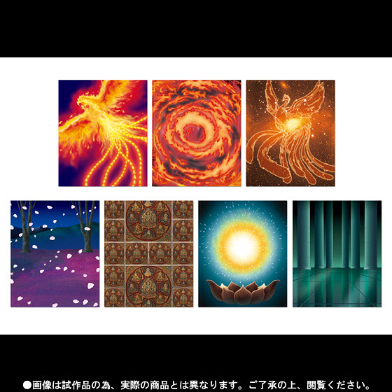 聖闘士聖衣神話EX 鳳凰座一輝&黃金聖鬪士處女座沙加特效配件套裝