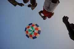 Job done- kolkata (Samir D) Tags: india canon asia balloon frame kolkata calcutta fanush sigma1020 kalipuja canon40d canon40dcanon beadonstreet samird
