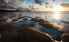sunset beach (Scott Howse) Tags: uk sunset england sky beach clouds bay coast sand nikon rocks cornwall pools lee coastline filters ptgui 09h d800e