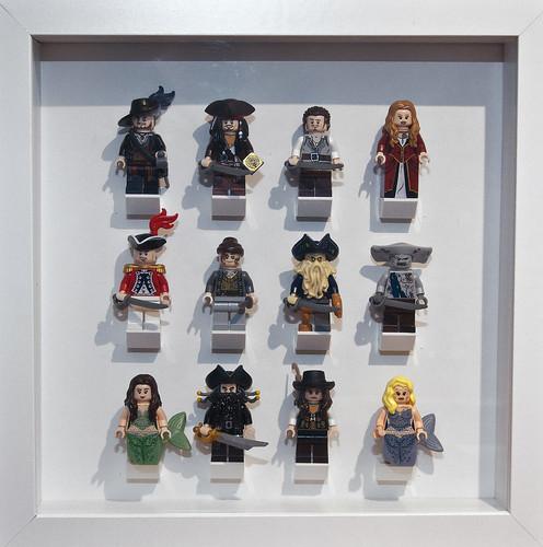 Flickriver: Photoset \'Collectible Minifigures in IKEA Ribba Frames ...