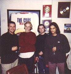"When we signed our deal with Polydor in 1997 with Simon 'make it sound like Roni Size' Gavin • <a style=""font-size:0.8em;"" href=""http://www.flickr.com/photos/37867910@N00/8198777053/"" target=""_blank"">View on Flickr</a>"