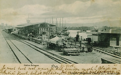Indonesia - Sumatra - Belawan (railasia) Tags: history station sumatra indonesia postcard dsm colonialism privatemessage