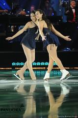 Mirai Nagasu and Kimmie Meissner