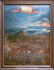 Altdorfer, The Battle of Issus with frame