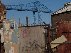 gallery (ewjz31) Tags: middlesbrough teesside northeastengland transportbridge wallofsorts
