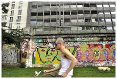 LOVE BIKE - VIENNA (Spaceopera) Tags: vienna wien voyage travel streetart bike austria nikon velo ville vienne beton urbain d90 uran spru nikond90 autrixhe