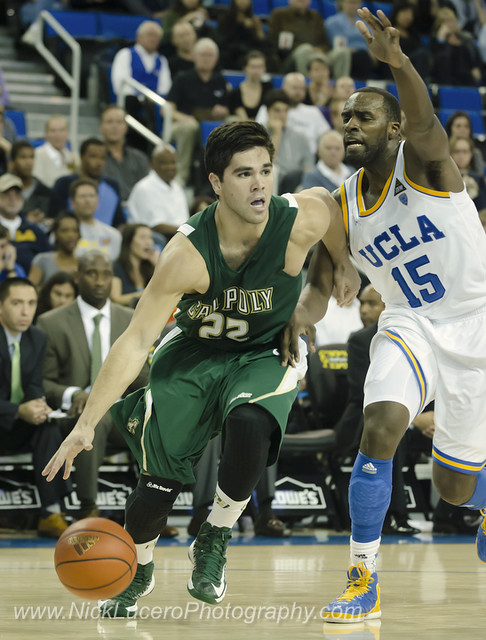 Cal Poly at UCLA mens Basketball 8