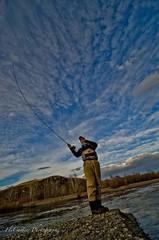 Gordon Hight in Mongolia (OrvisNews.com) Tags: mongolia flyfishing trout orvis lenok taimen