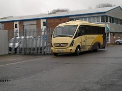 York Pullman (PD3.) Tags: york uk england bus buses bar mercedes hampshire pullman end depot winchester 236 hants ypb sragecoach eb58 eb58ypb