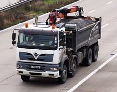 Foden Alpha LV52 KWL (gylesnikki) Tags: truck grab bulker 8wheeler