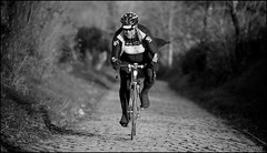 To the batcave Skyman! (kristof ramon) Tags: sky cycling belgium cobbles flanders oudekwaremont pave kramonbe andyverral andyvarellride2012