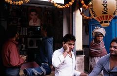 Backstreet near New Delhi train station, Delhi, India (ChuanWang) Tags: india delhi streetphotography backstreet trainstation provia100f rdpiii