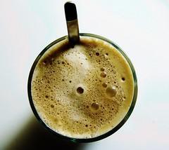 Cafe de la nata (NicolaiBryhnDybvad) Tags: food white art cup spectacular cream spoon clean fancy coffe plain