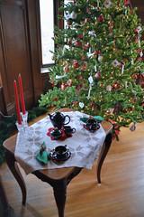 Nordic Christmas (jpellgen) Tags: christmas winter holiday tree minnesota norway museum table nikon midwest december market sweden minneapolis swedish norwegian ornaments nordic mansion twincities jul tamron mn scandinavian 2012 asi 18200mm turnblad julmarknad d3100