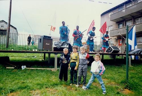 Back Court Concert Cranhill 1990s