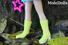 Amazing Yellow Boots <3