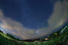 nightland (dtsortanidis) Tags: winter sky mountain night canon stars photography december mark fisheye greece ii 5d jupiter pleiades dimitris milkyway patra dimitrios iridiumflare achaia erymanthos erymantheia 815mm tsortanidis dtsortanidis andromedagalagy