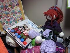 SisuKnittingSocks (toureasy47201) Tags: doll handmade knit yarn knitteddolls arnecarlos