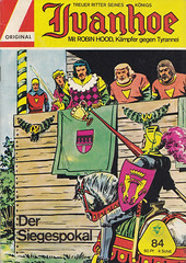 Ivanhoe 84 (micky the pixel) Tags: comics comic tournament knight joust pokal ivanhoe ritter lanze tjost walterlehningverlag