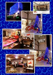 Hotel The Chancery - in Christmas atmosphere (ShambLady, pls read profile page...) Tags: road christmas xmas blue food india azul night dark lights restaurant hotel evening noche blauw noir display nacht centre bangalore decoration center bleu 106 buffet blau avond karnataka dunkel kerst lavelle chancery moshe decoratie bengaluru thechancery