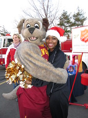 Salvation Army (12) (Moondog Mascot) Tags: food lake army drive discount wing drug monsters erie sully militant salvation 19 channel mart moondog cavaliers strongsville 12122012 cavsmoondog